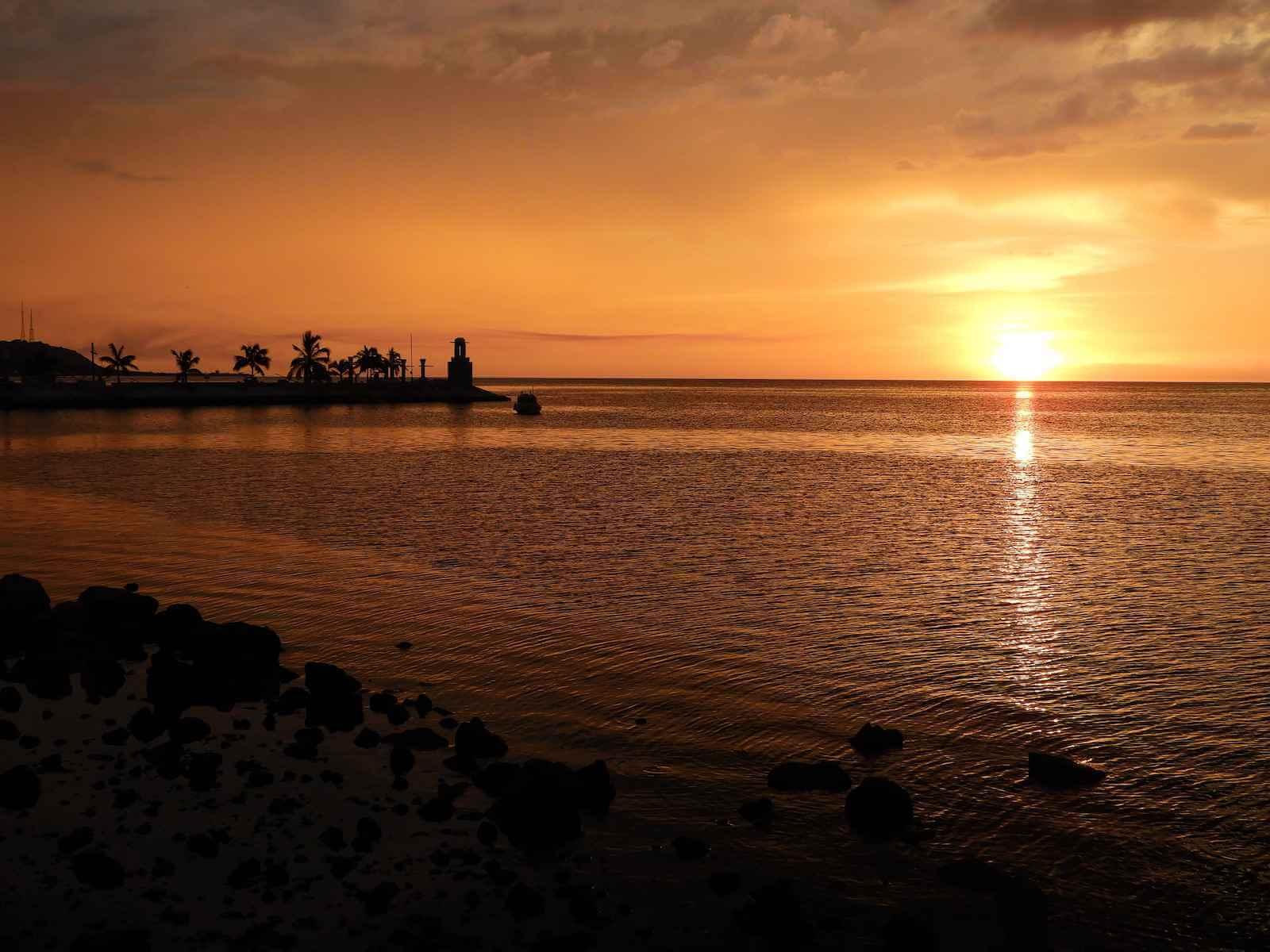 Campeche bezienswaardigheid: zonsondergang