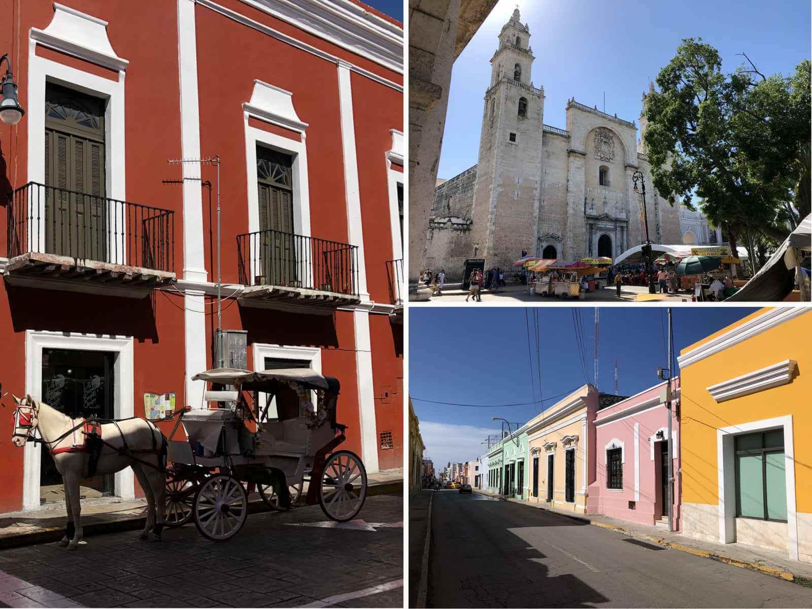 Mérida centrum mexico