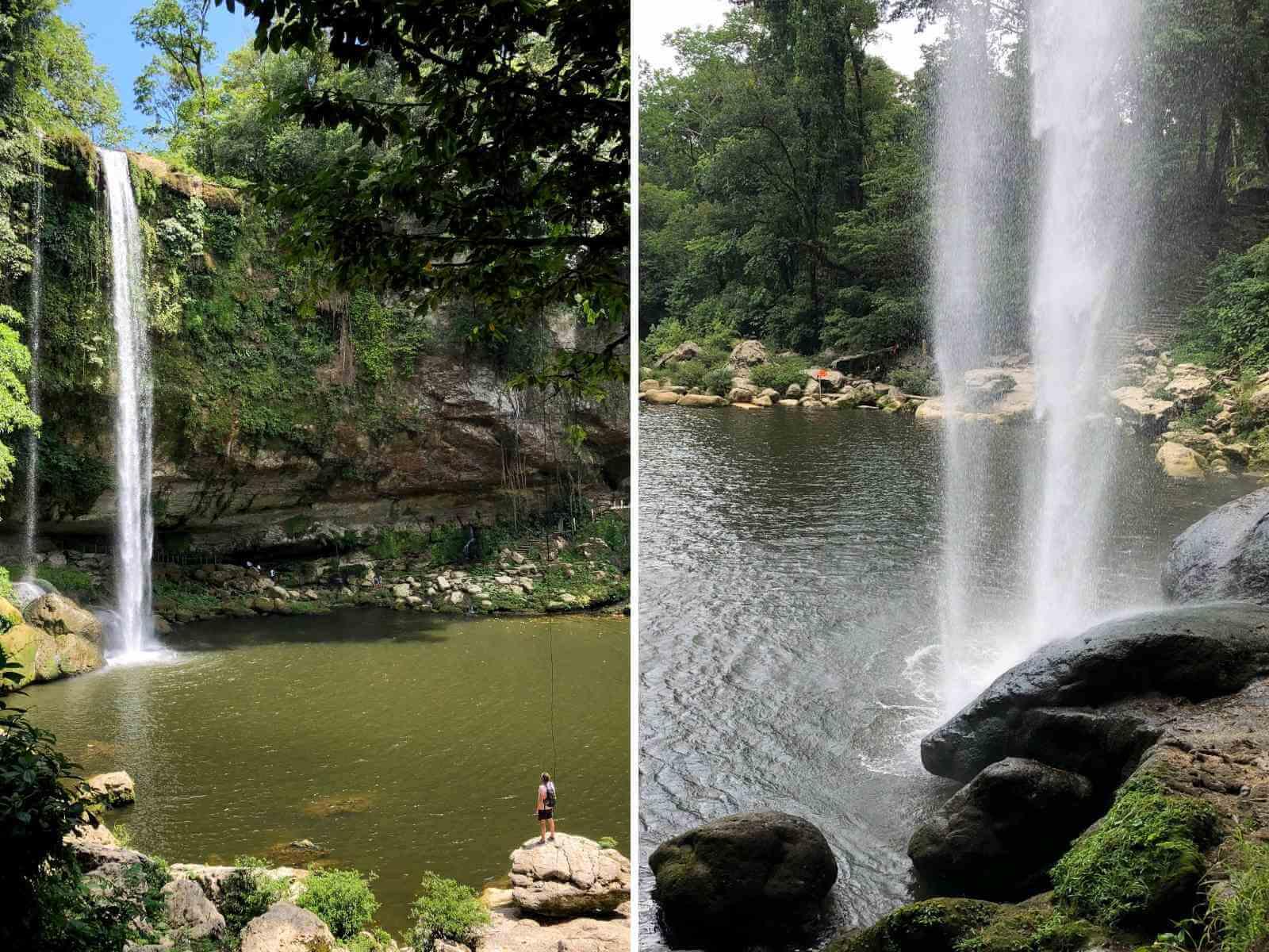 Misol-ha waterval Palenque