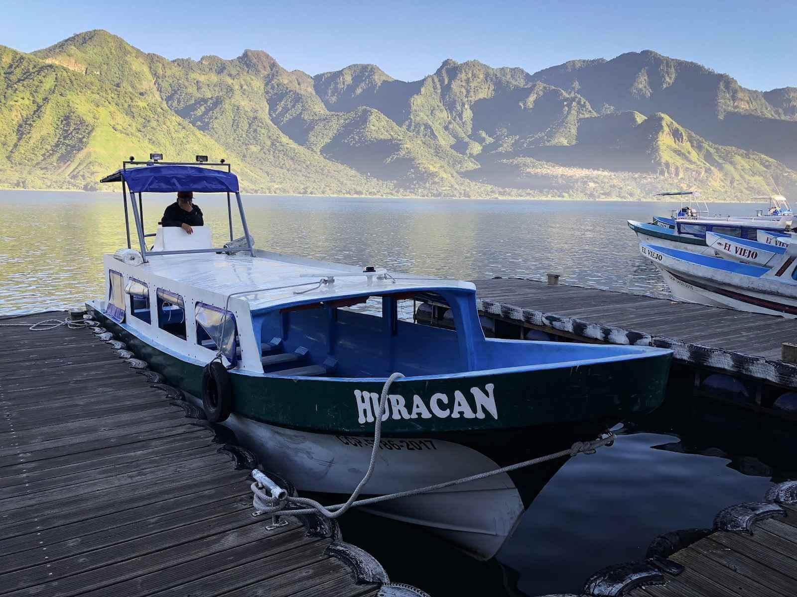 Lake Atitlan Guatemala - boottocht