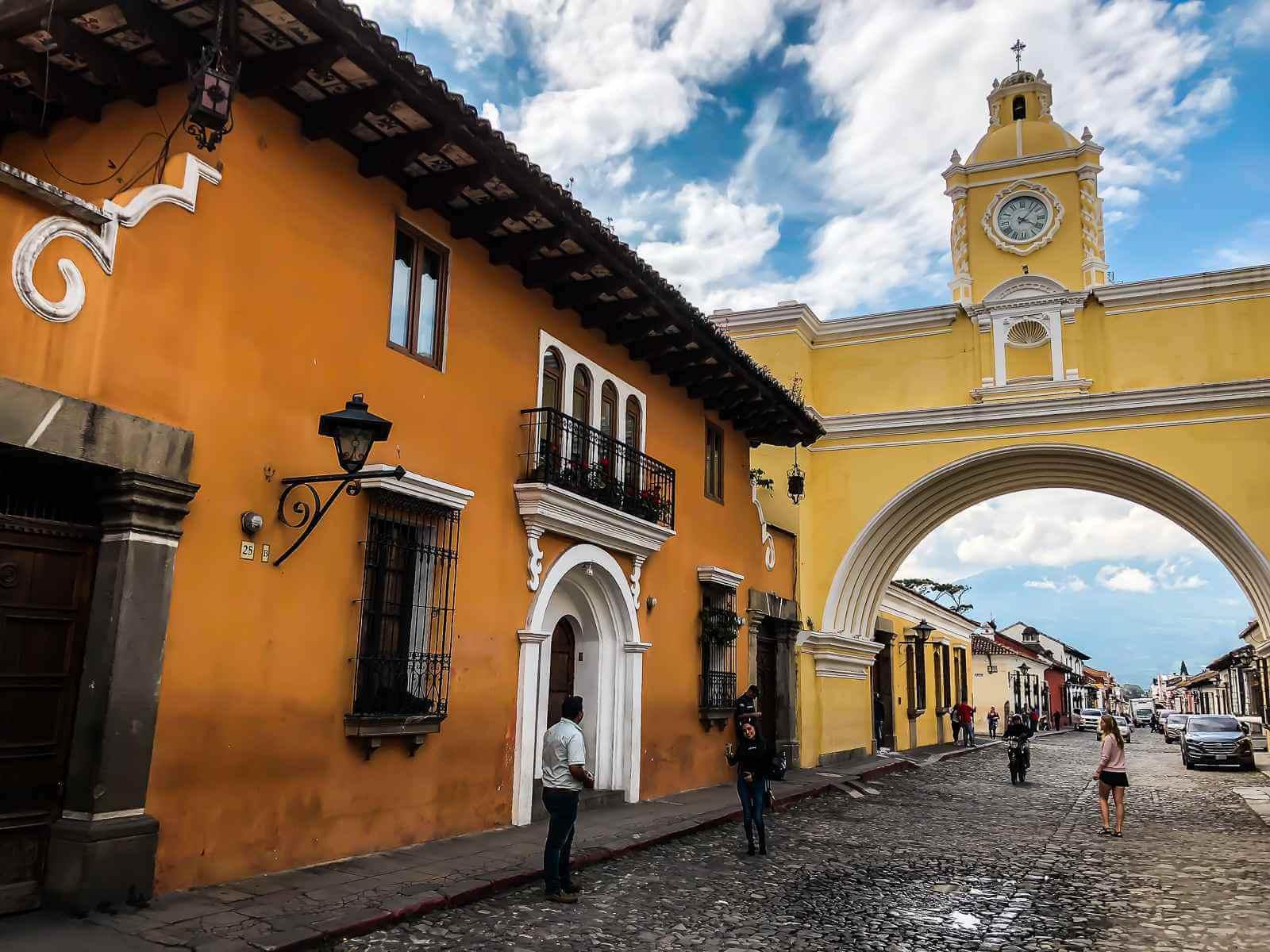 Antigua - Backpackers hart van Guatemala