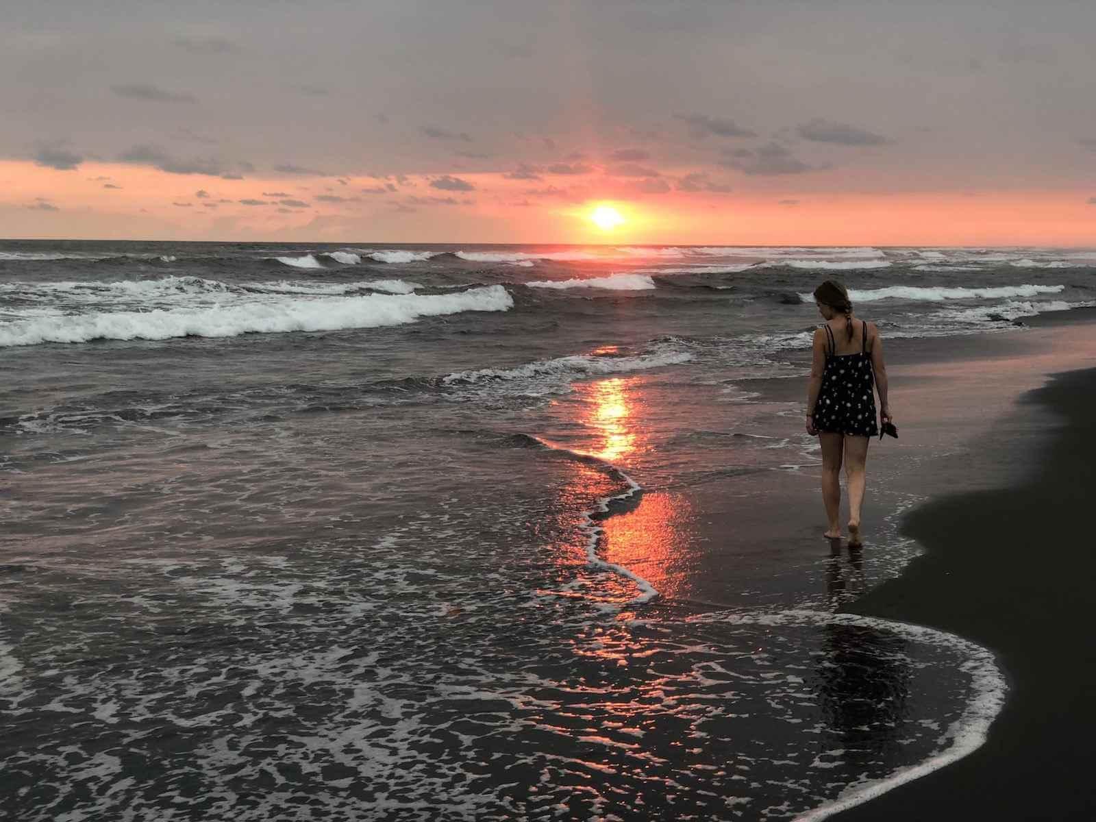 El Paredon zonsondergang