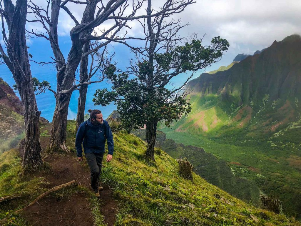 Top 3 hikes Kauai Hawaii - Kalepa Ridge Trail