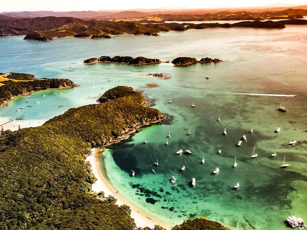 Bay of Islands - Een baai met idyllische eilandjes