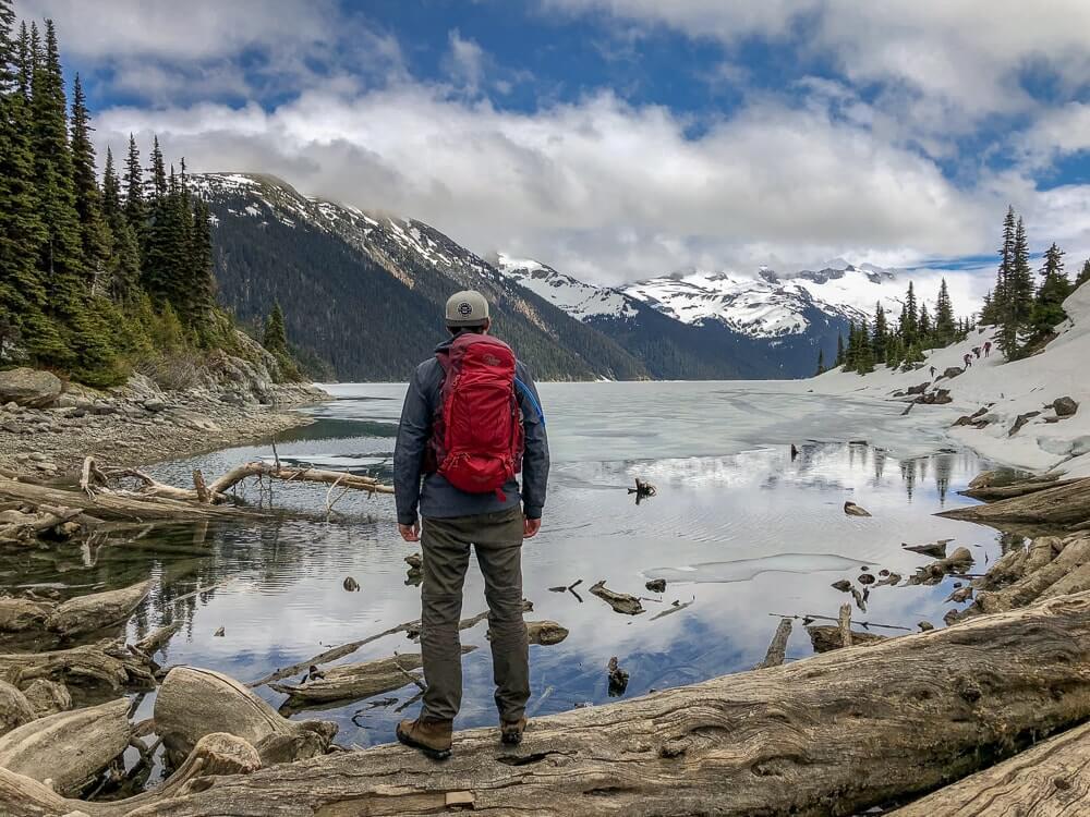 Garibaldi Lake - Pittige hike er naar toe, maar wel met een rijke beloning