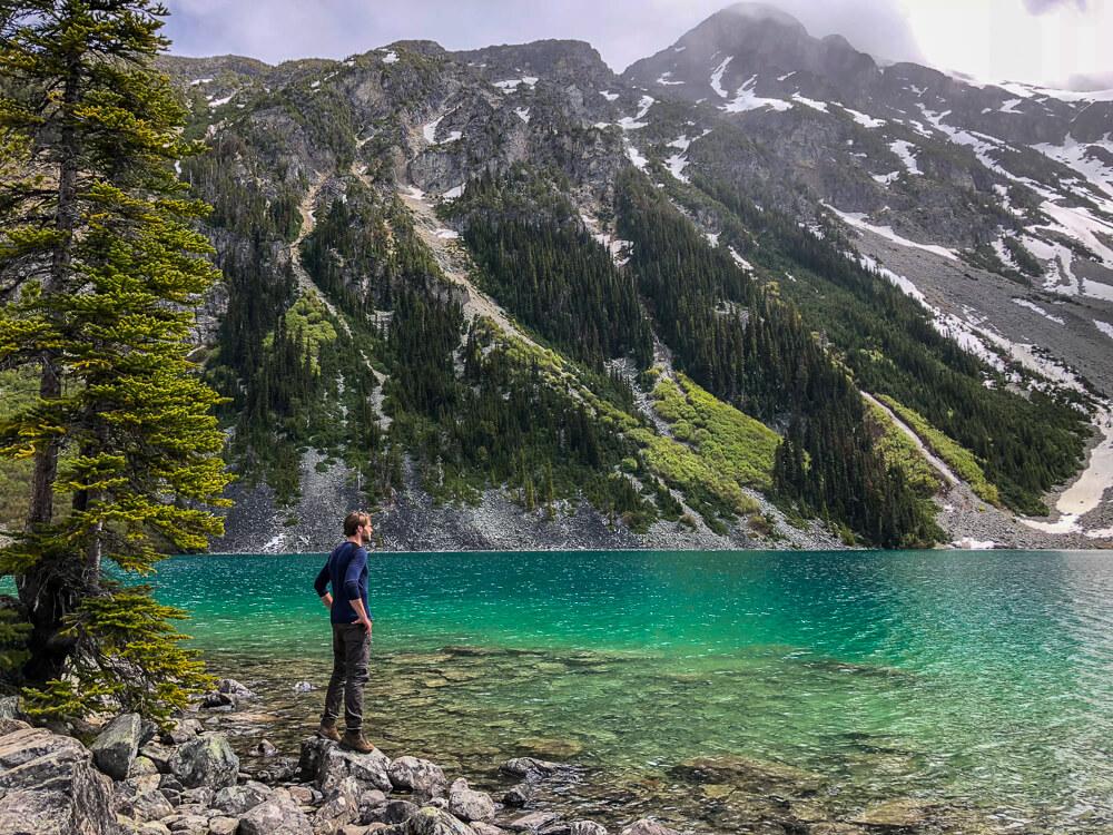 Joffre Lakes - Upper Lake