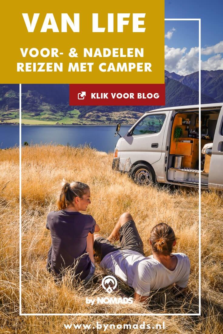 Van life: voor- en nadelen reizen met camper