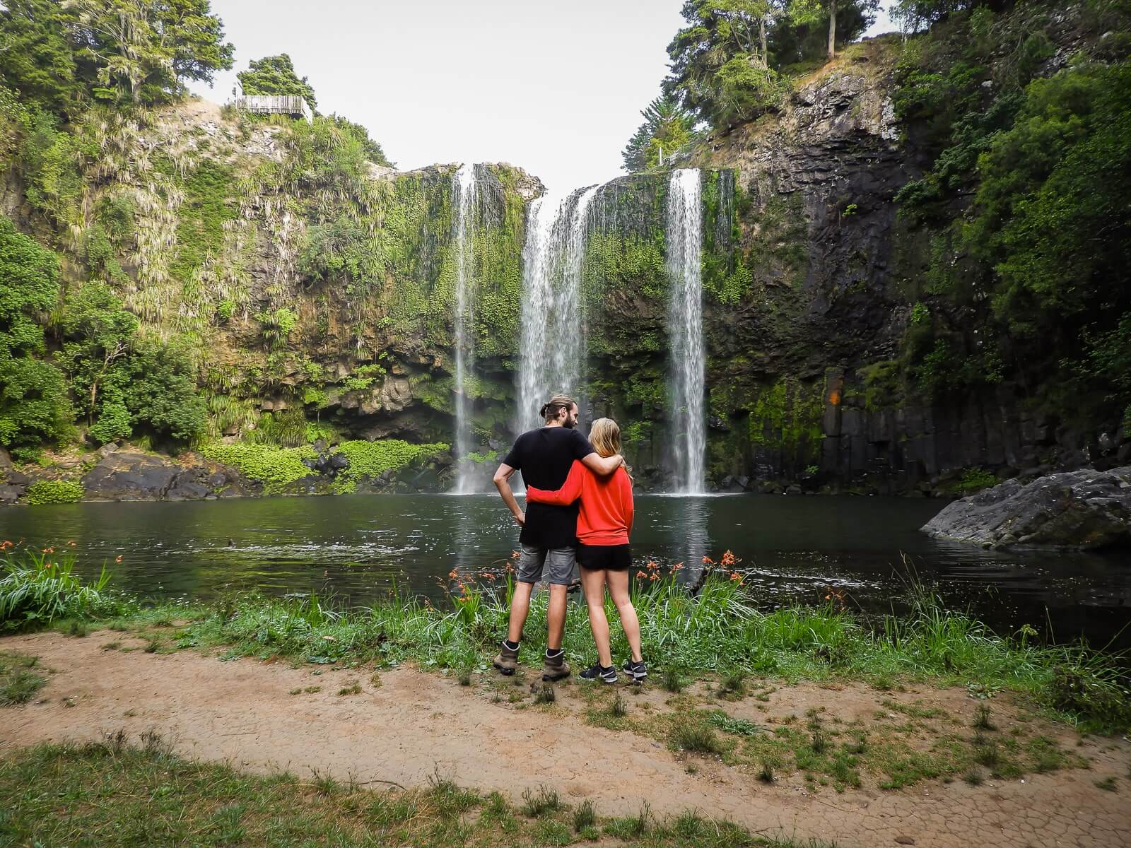 Whangarei Falls - Te bereiken middels een korte wandeling