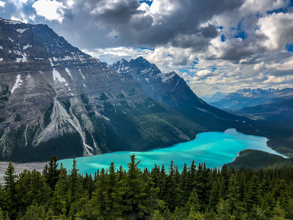 Peyto Lake West-Canada - by NOMADS