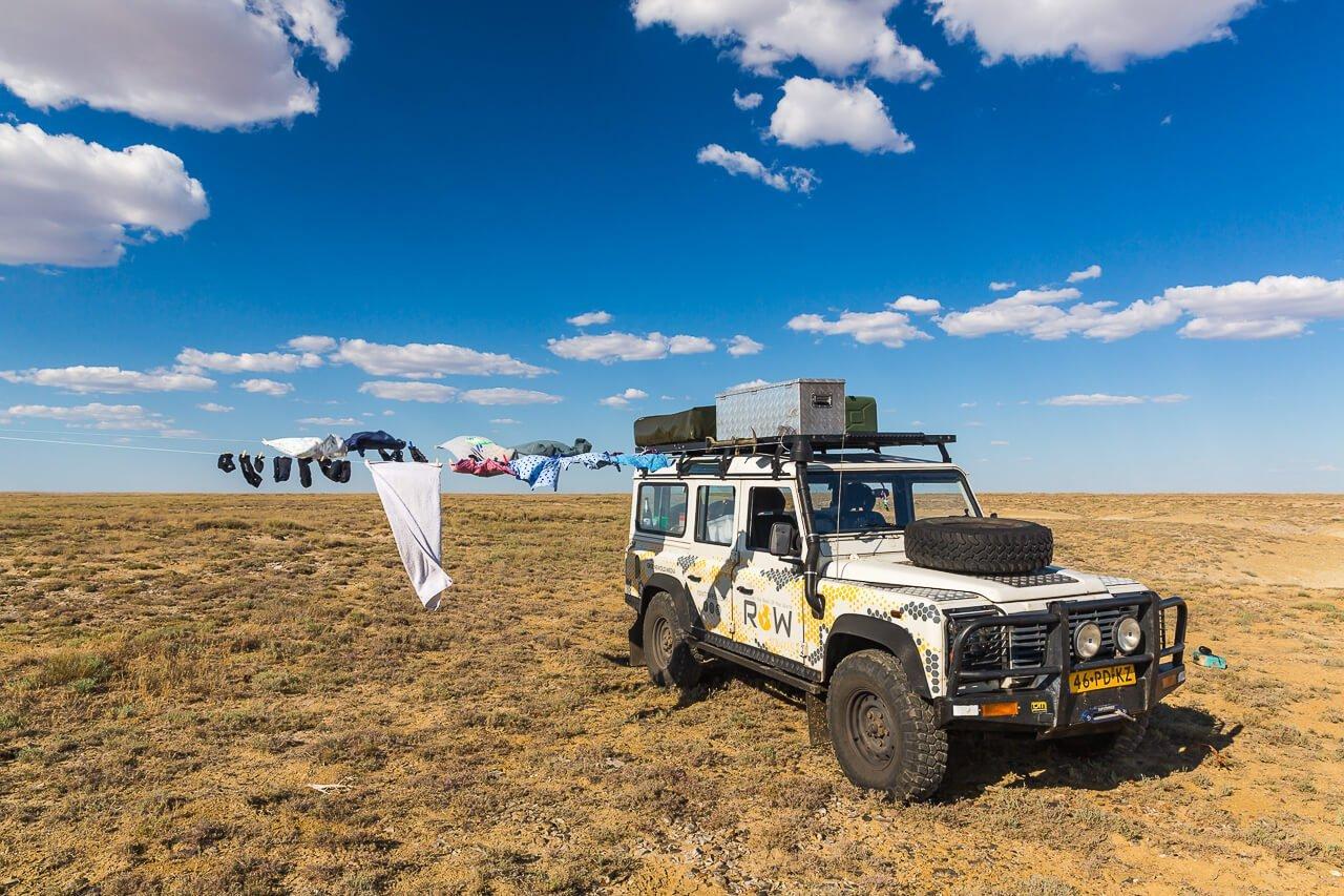 Vanlife in Kazachstan - Row Travels