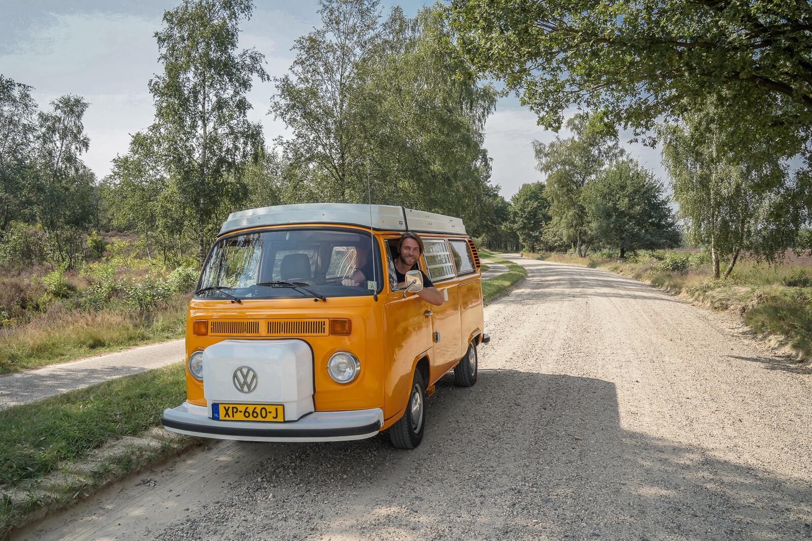 Huur een toffe retro Volkswagen camper bij Goboony