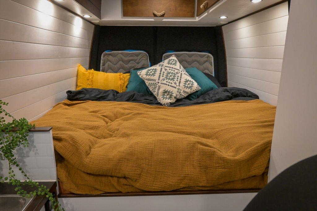 bed in camper