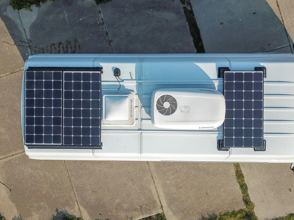zonnepanelen camper set