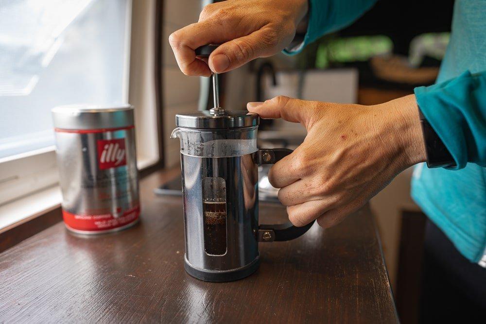 Cafetiere - vanlife essential