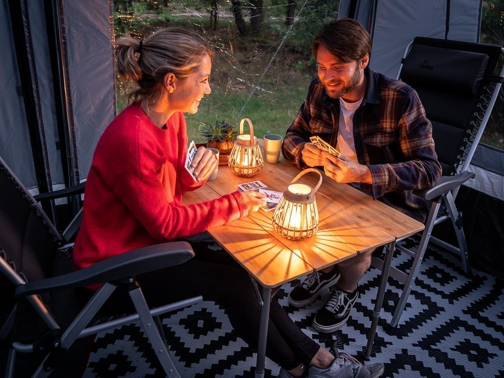 Sfeervolle kampeerverlichting